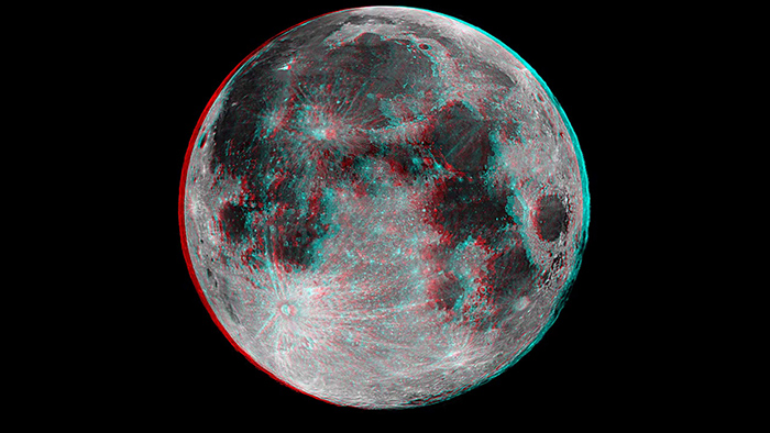 анаглиф картинки космос лорак