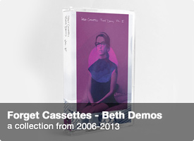 Forget Cassettes - Beth Demos cassette